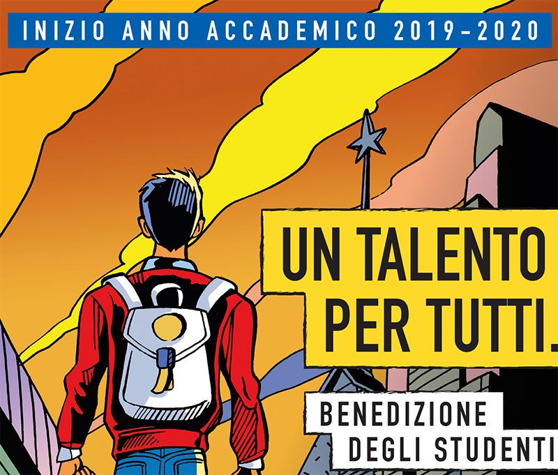 Benedizione degli studenti 2019