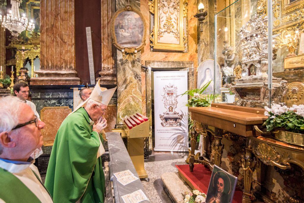 Mons. Nosiglia presiede celebrazione S. Messa a Santa Cristina (25 ottobre 2017)