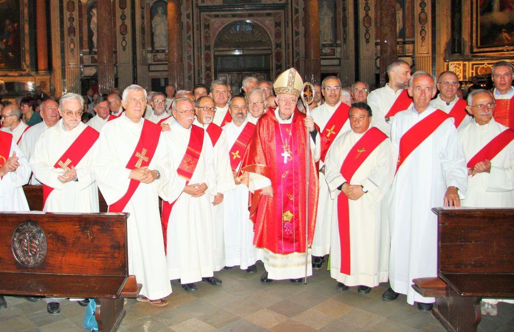 Ordinazione nuovi diaconi permanenti in Cattedrale