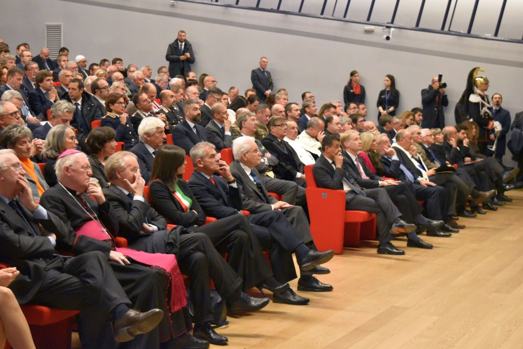 Inaugurazione dell'anno accademico 2017-18 al Politecnico di Torino (7 novembre 2017)