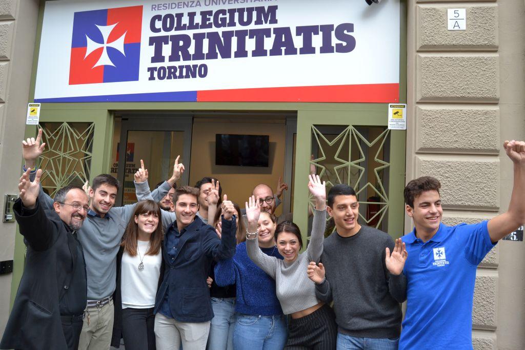 Inaugurazione del Collegium Trinitatis, Torino Crocetta (8 novembre 2017)