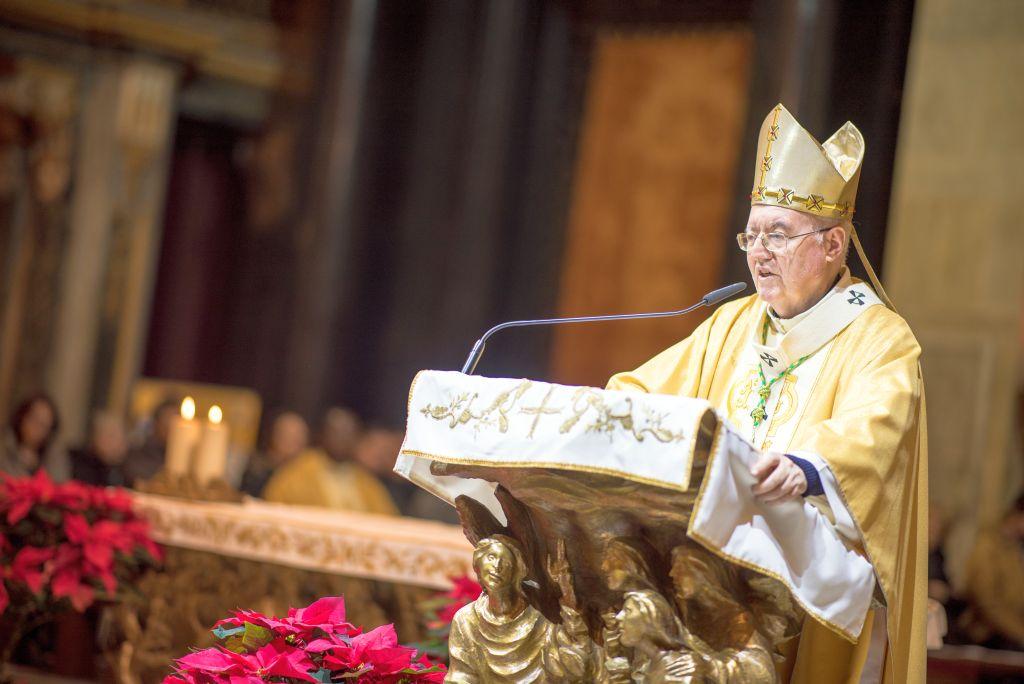 Mons. Nosiglia presiede S. Messa della notte di Natale, Duomo di Torino 24 dicembre 2017