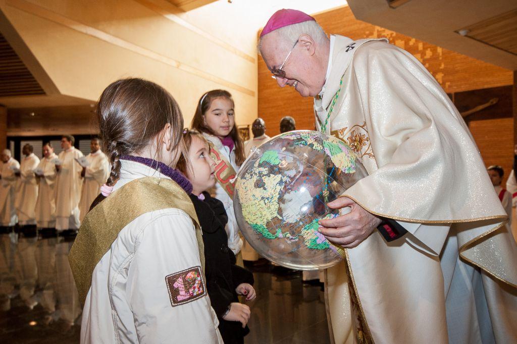Incontri con l'Arcivescovo nelle feste fino all'Epifania