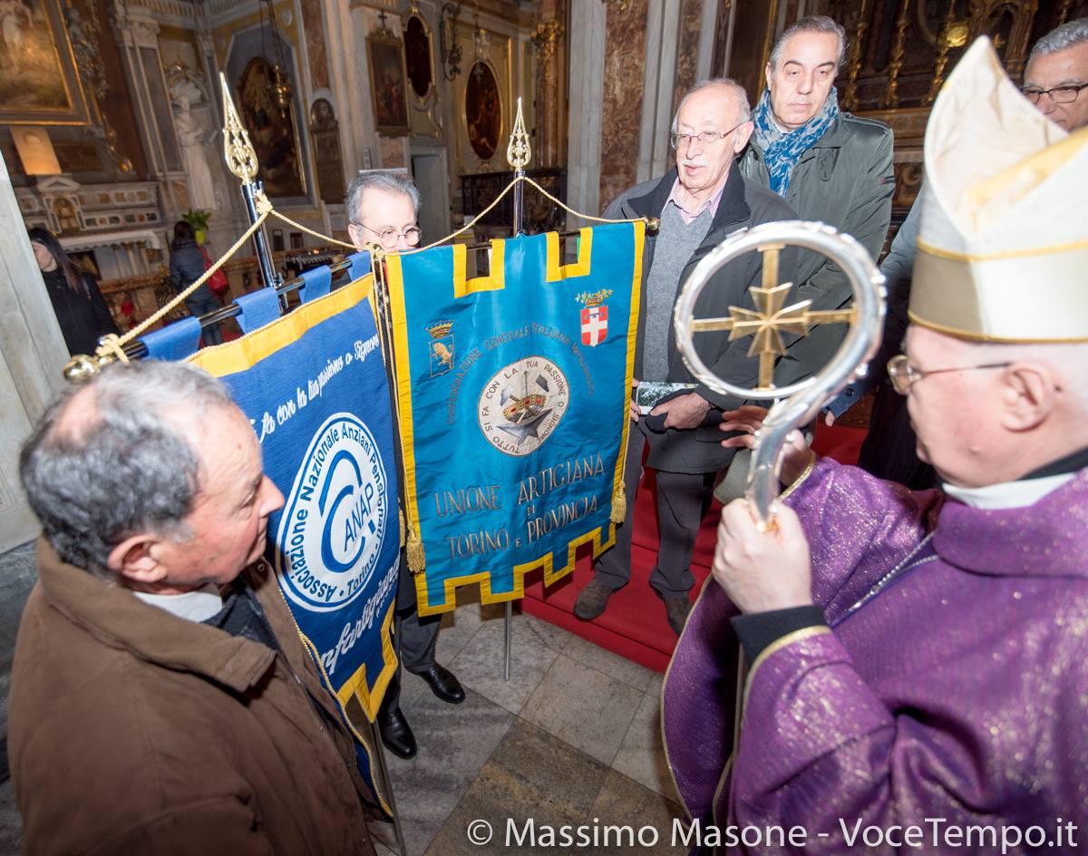 Mons. Nosiglia celebra la S. Messa per gli associati di Confartigianato - Torino, 18 marzo 2018