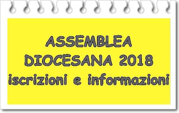Assemblea diocesana 2018