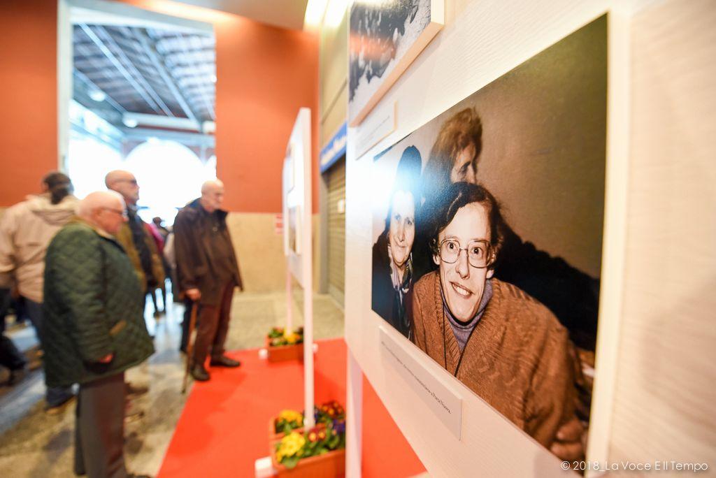 Lia Varesio, mostra fotografica a Porta Nuova nel decennale della morte, Torino 7 aprile 2018