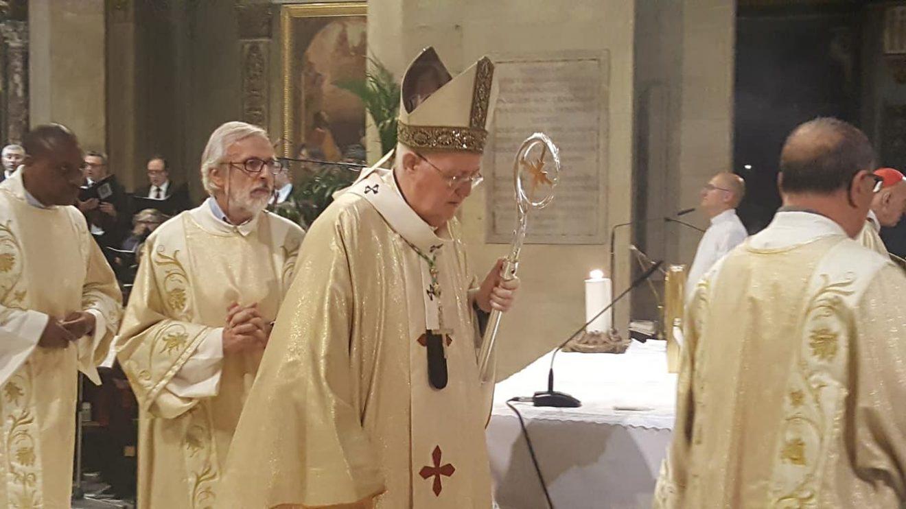Mons. Nosiglia celebra il 50° della sua Ordinazione sacerdotale in Cattedrale, nella festa del Corpus Domini - 6 giugno 2018