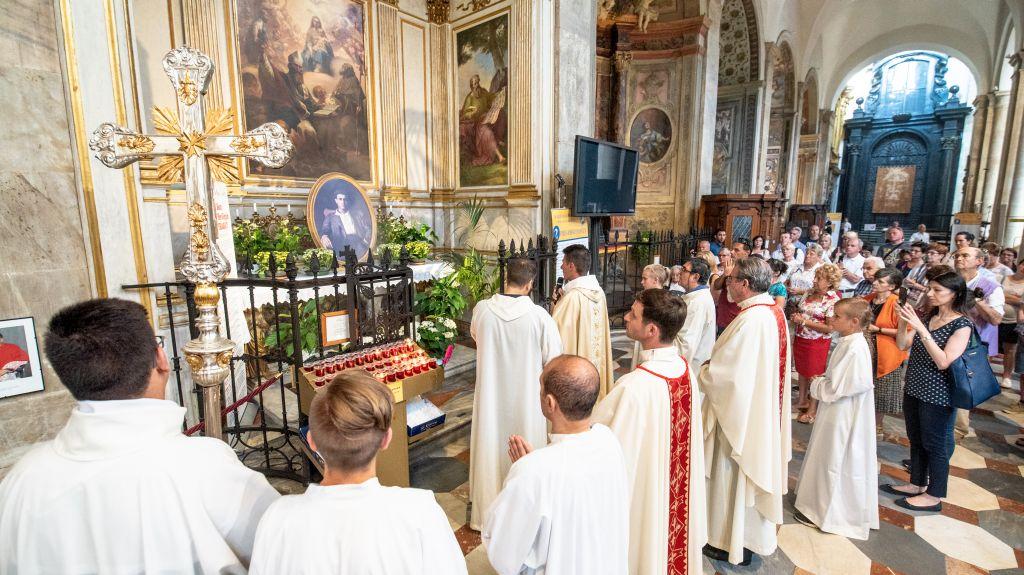 In Duomo per la memoria liturgica del Beato Pier Giorgio Frassati, Torino 4 luglio 2018