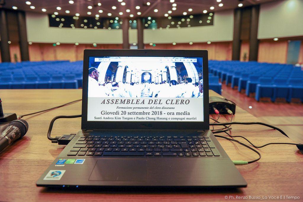 Assemblea del Clero diocesano - Torino S. Volto 20 settembre 2018