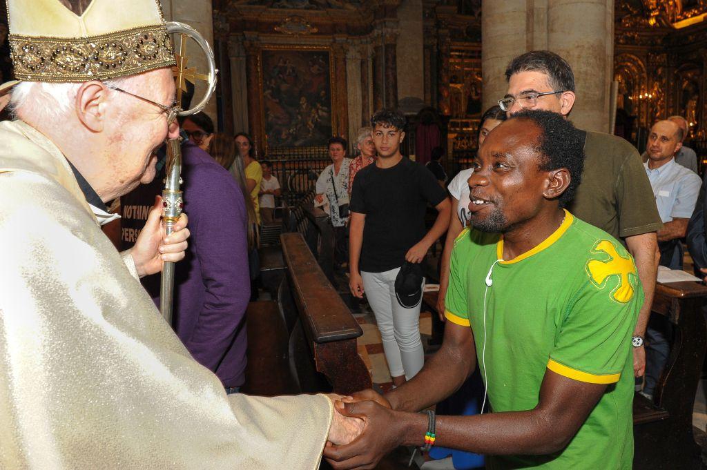 50° anniversario della fondazione della Comunità di Sant'Egidio, S. Messa in Duomo a Torino con mons. Nosiglia - 15 settembre 2018