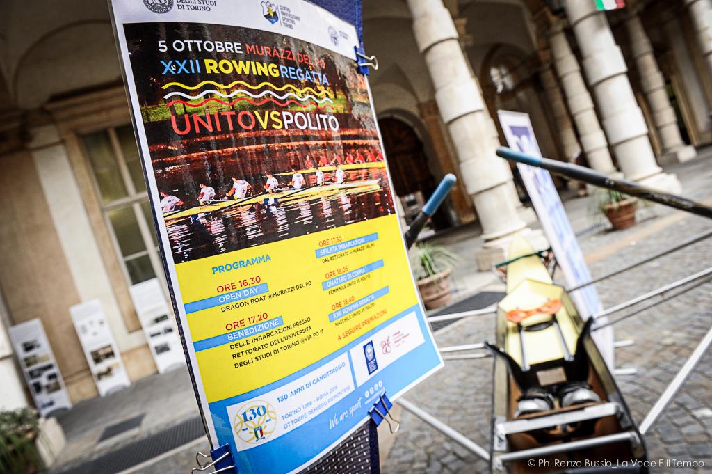 Rowing Regatta, alla XXII edizione la sfida a colpi di remo tra Università e Politecnico - Torino, 5 ottobre 2018