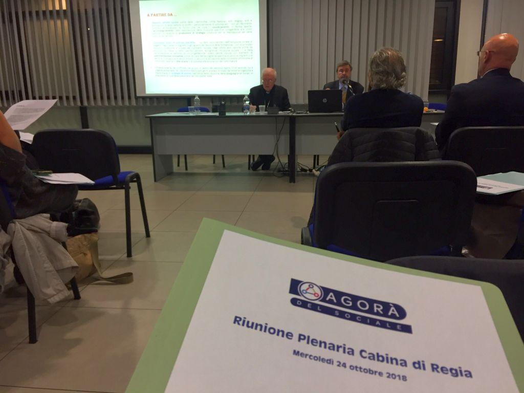 Agorà del Sociale - riunione plenaria cabina di regia, Torino 24 ottobre 2018