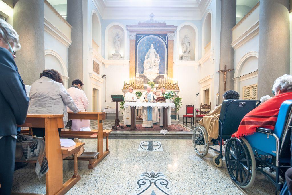 Istituto Carlo Alberto: S. Messa per la riapertura della chiesa dopo i restauri - Torino 3 ottobre 2018
