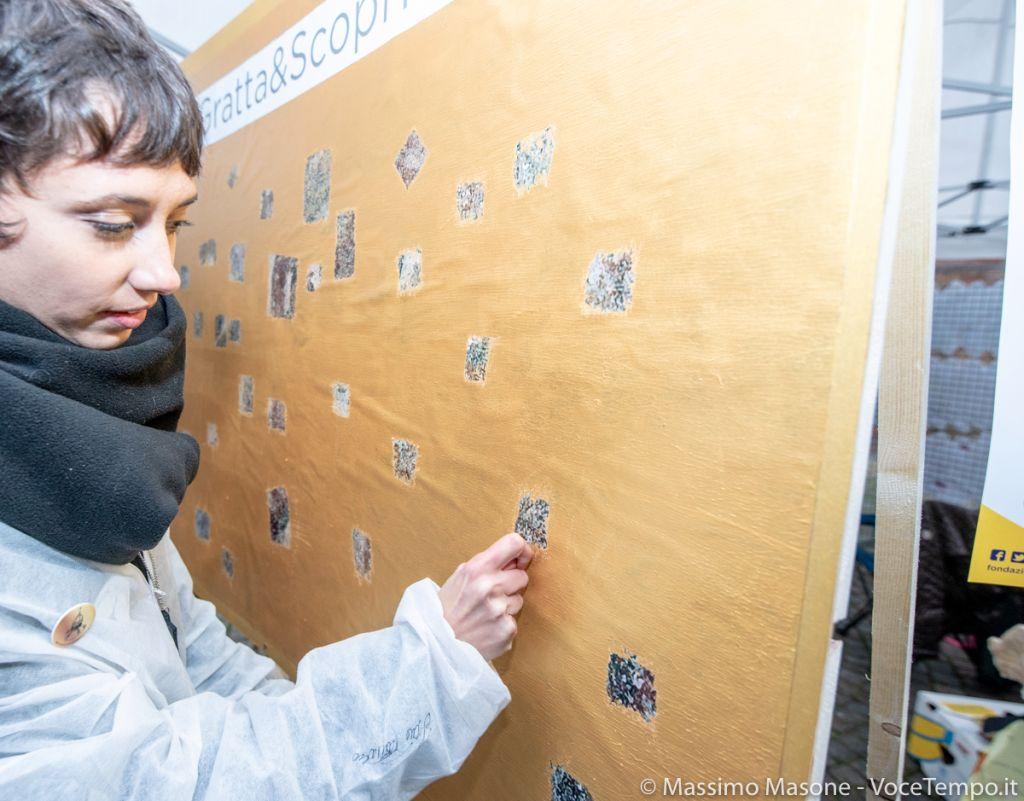 Campagna informativa su raccolta fondi per restauri alla Consolata di Torino, 10 novembre 2018