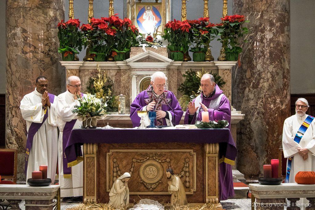 S. Messa di Natale per operatori Area Sociale, Torino Gran Madre di Dio - 20 dicembre 2018