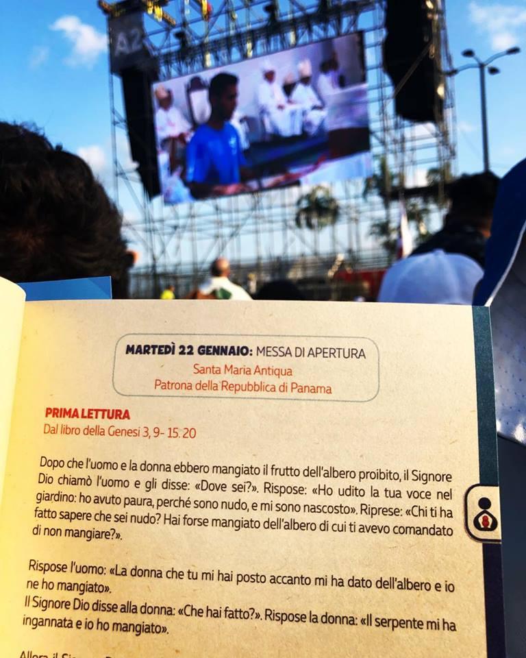 Giovani delle Diocesi di Torino e del Piemonte a Panama per la GMG, Panama 22-23 gennaio 2019