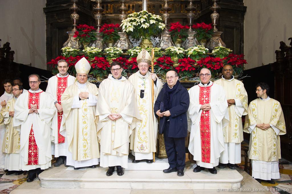 Ordinazione sacerdotale di Alessandro Rossi - Torino, Duomo 12 gennaio 2019