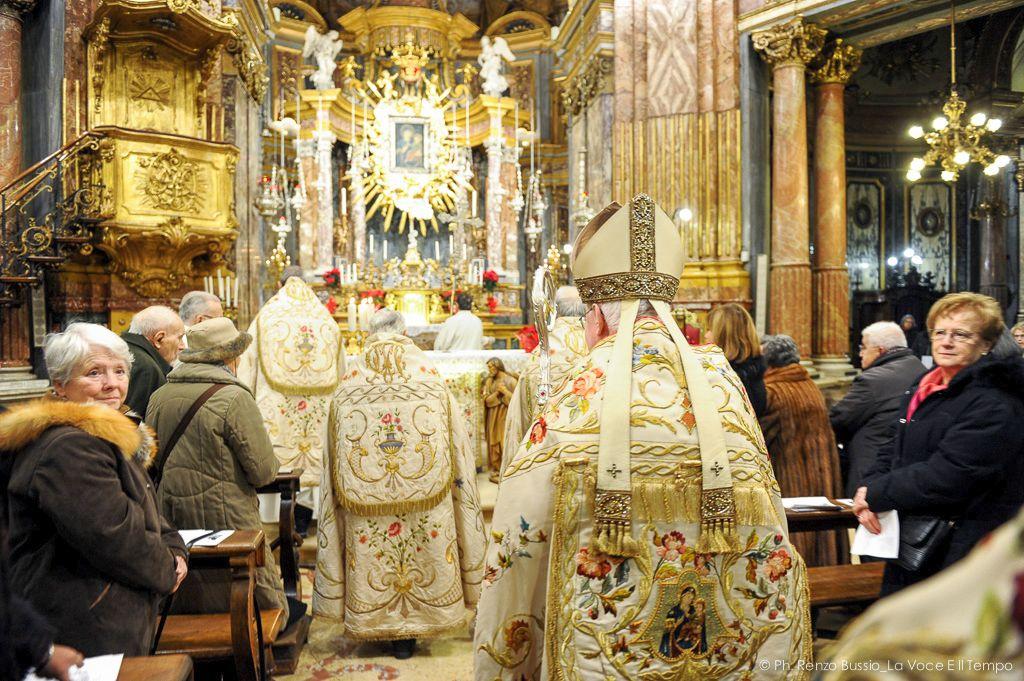 Messa del Te Deum al Santuario della Consolata di Torino, 31 dicembre 2018