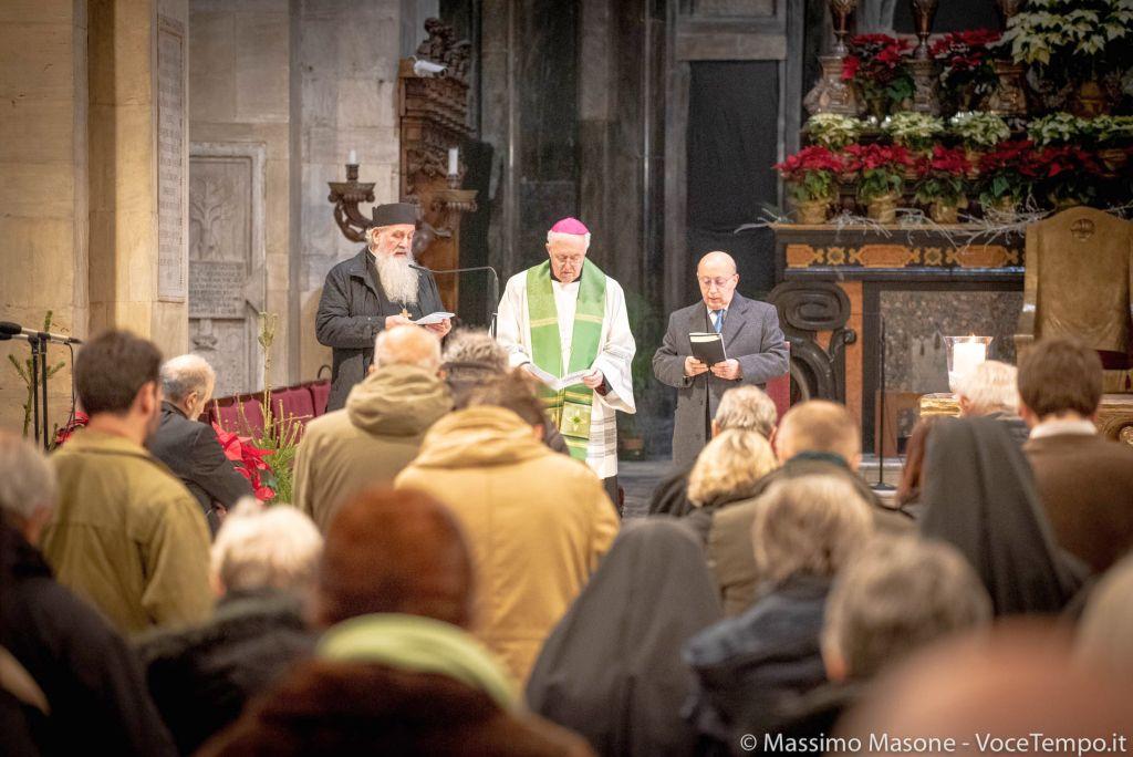 Settimana di preghiera per l'unità dei cristiani, celebrazione di apertura in Duomo - Torino 18 gennaio 2019