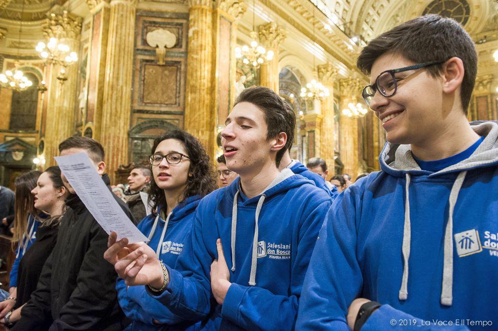 Festa di San Giovanni Bosco a Maria Ausiliatrice - S. Messa con i giovani (Torino, 31 gennaio 2019)
