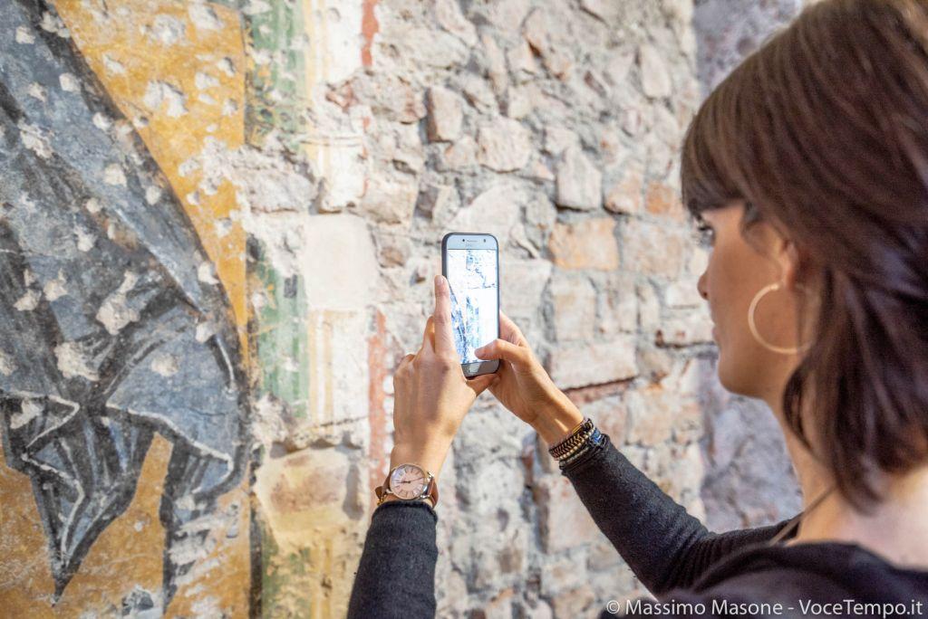Presentazione al pubblico dei ritrovati mosaici romanici al Santuario della Consolata - 6 febbraio 2019