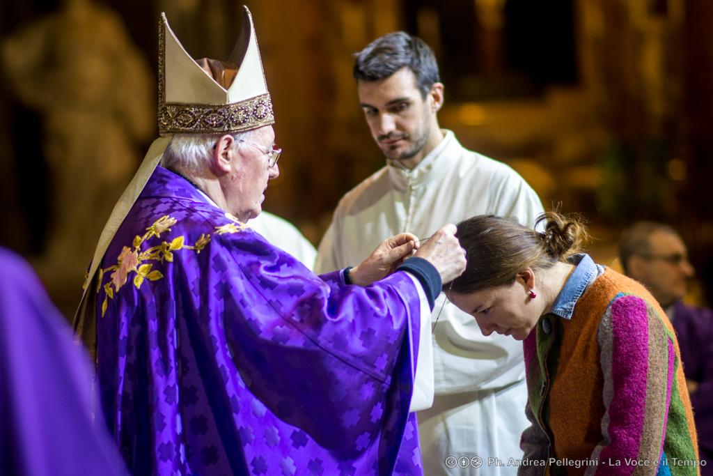 Mercoledì delle Ceneri: inizio di Quaresima con l'Arcivescovo e i catecumeni