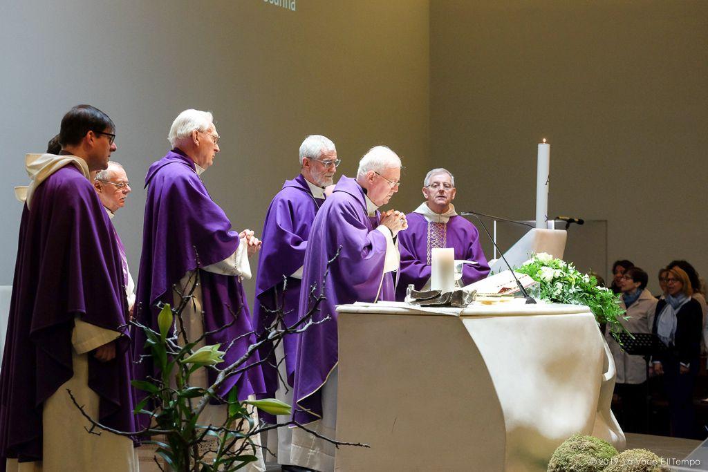 Funerale di Maria Cerrato in Olivero al Sermig di Torino, 7 maggio 2019