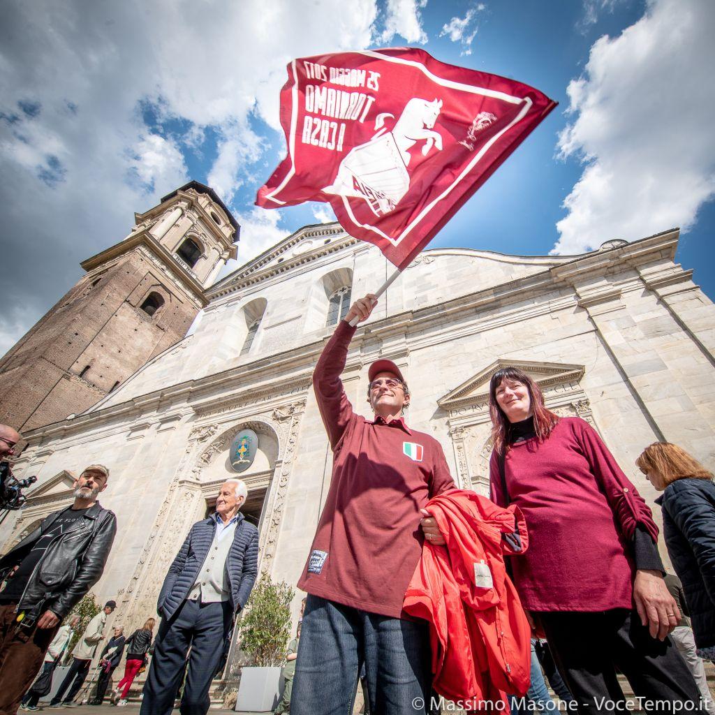 Messa di suffragio nel 70° anniversario della sciagura aerea di Superga , Torino Cattedrale 4 maggio 2019