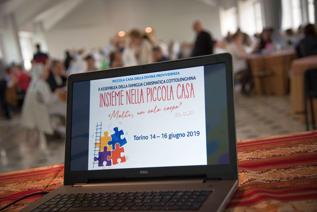 II Assemblea della Famiglia carismatica cottolenghina, Torino 14-16 giugno 2019
