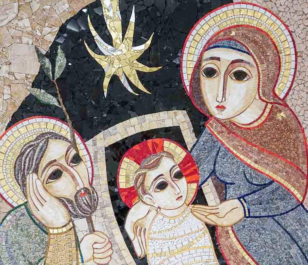 Diocesi Torino: mosaico della Natività realizzato da Ivan Rupnik