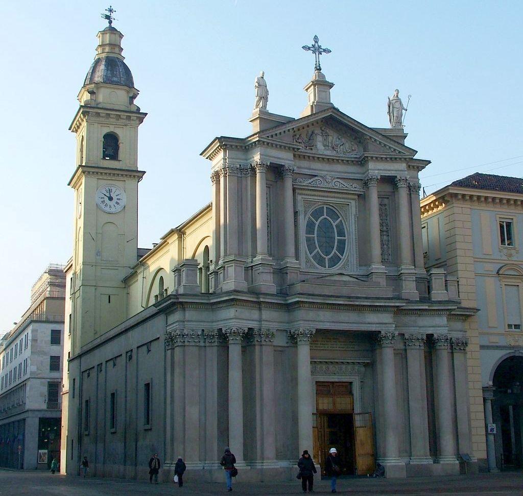 Diocesi di Torino: la chiesa di San Carlo nell'omonima piazza torinese