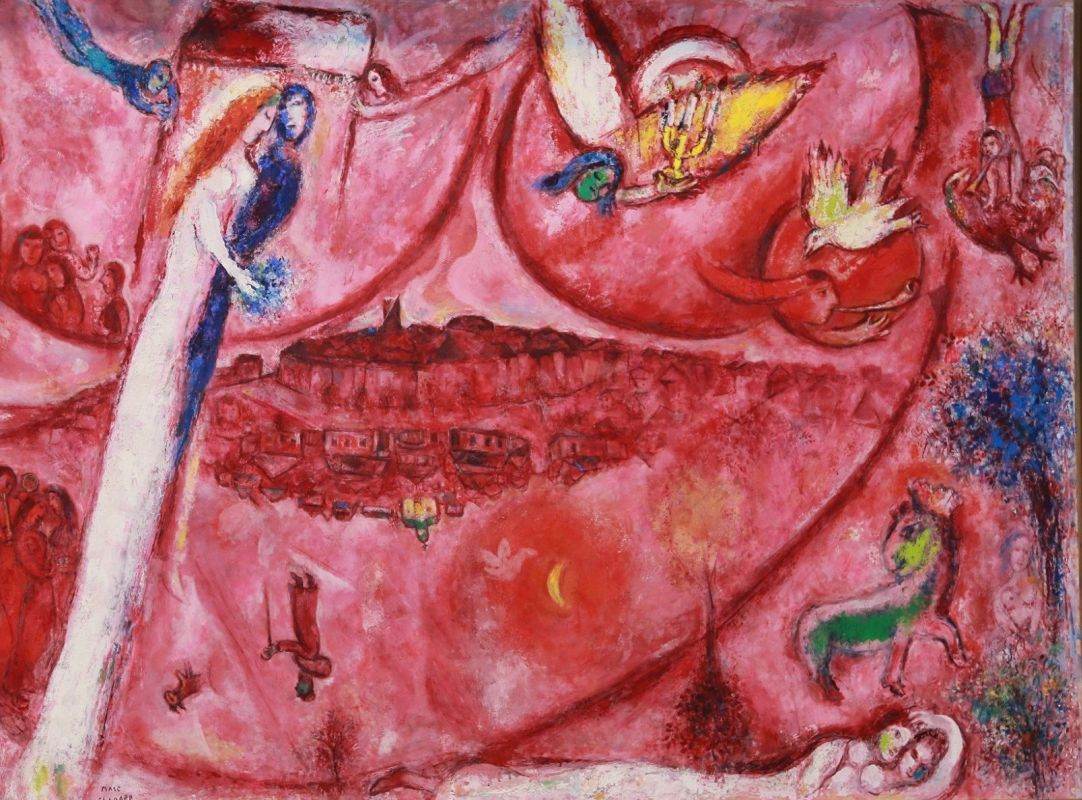Diocesi Torino: il Cantico dei Cantici opera di Marc Chagall