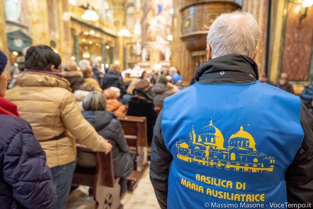 Diocesi Torino: fedeli alla Messa per la festa di Don Bosco 2019