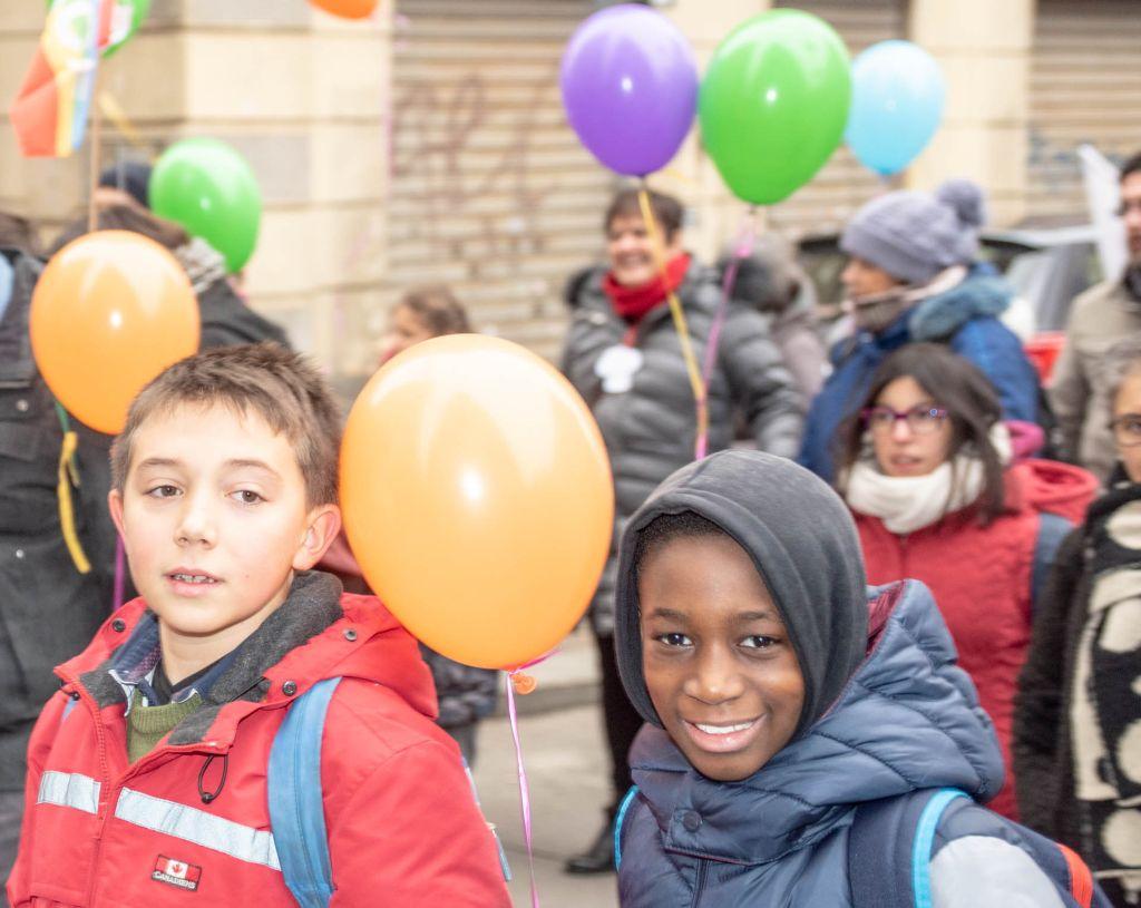 Diocesi Torino: bimbo extracomunitario insieme ad altri italiani