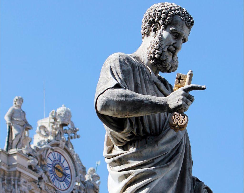 Diocesi di Torino: la statua di San Pietro in Vaticano