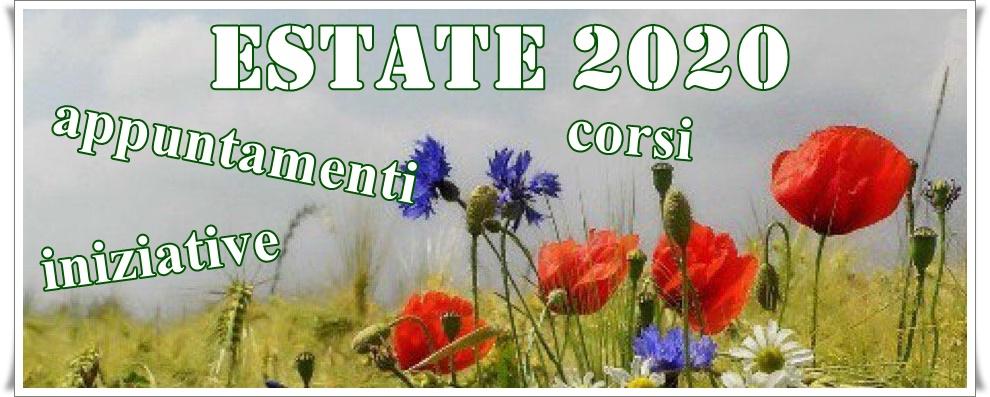 Iniziative e appuntamenti estate 2020