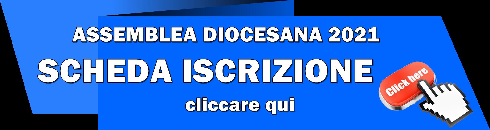 Banner iscrizione Assemblea diocesana 2021